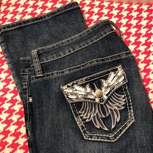 Zana Di Wing Bling Pocket Jeans